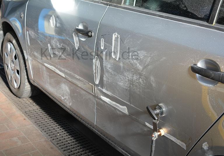 Fahrzeugreparatur nach Unfallschaden